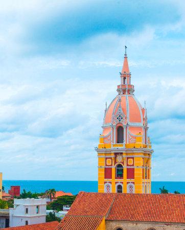 Santa Catalina de Alejandría Church - Cartagena de Indias Colombia, is one of the most emblematic of our country.