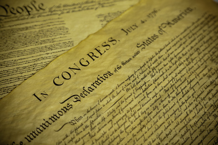sates: The Declaration of Independence and Constitution of the United Sates of America