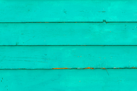 a bluish Teal green wooden background slats background Stock fotó