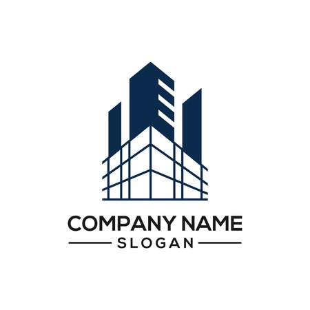 Building construction design to be used as a logo icon template for business constructors and more.