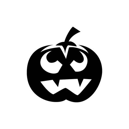 Pumpkin halloween, Pumpkin halloween silhouette is simple but spooky for the attribute of halloween
