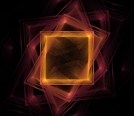 Rotating colored square photo