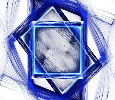 ber: Icy rotating squares