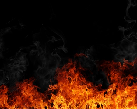 Fire background  Stock Photo - 12574347
