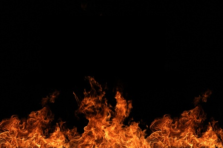 Fire wall Stock Photo