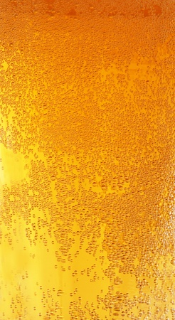 Beer glass detail photo