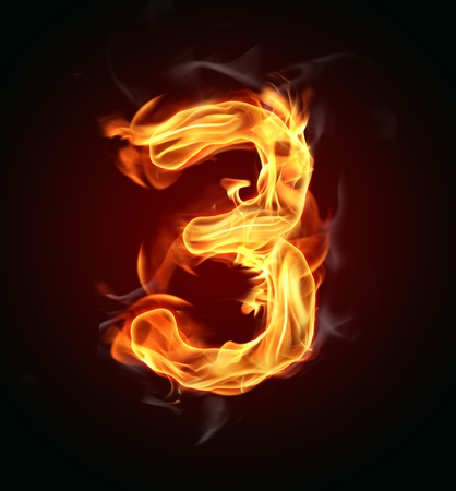flammable: Fire number