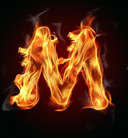 resplandor: Fuego quema la carta