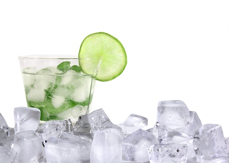 Mojito ice drink  photo