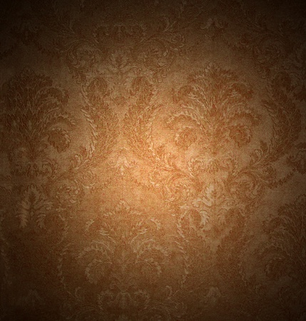 brown: Abstract vintage pattern Stock Photo