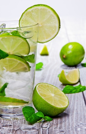 Fresh mojito drink Stock Photo - 13572906