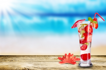 Summer drink photo