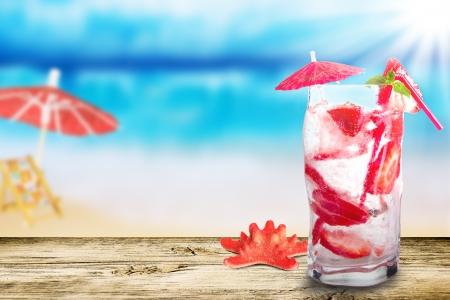 Summer drink Reklamní fotografie