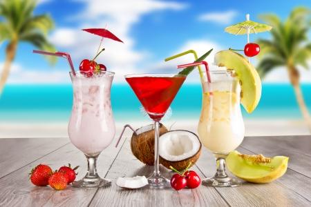 Summer drinks Stock Photo - 13934924