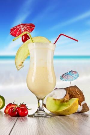 Pina colada drink photo