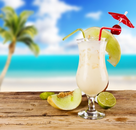 pina colada: Pina colada drink