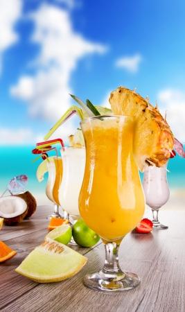 Summer drinks photo