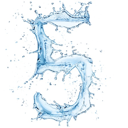 ripple effect: Water splashes number