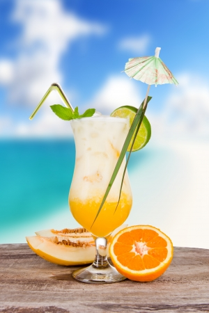 Summer drink photo