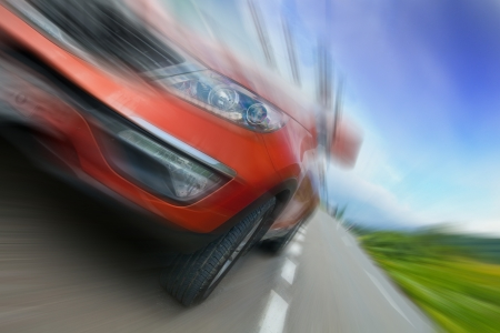 acceleration: Concept of car speed