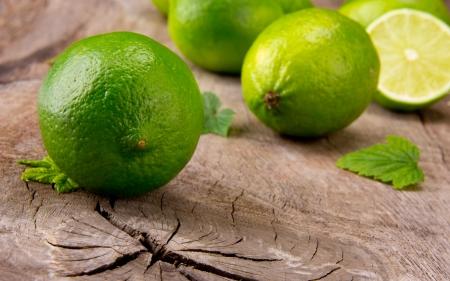 Fresh limes photo