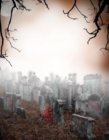 까마귀: 오래 된 수수께끼의 안개에 묘지를 파괴