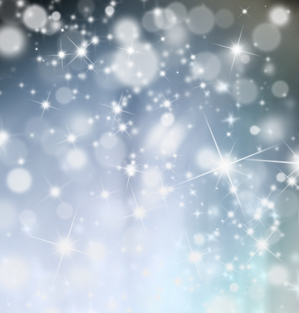 snow drop: Abstract shiny blur christmas background Stock Photo