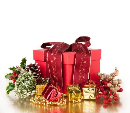 Celebration theme with christmas gift Stock Photo - 15994218