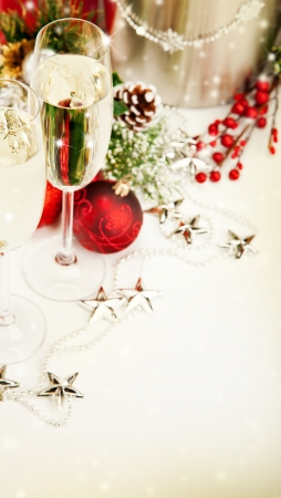 festive occasions: Celebration theme with champagne wine