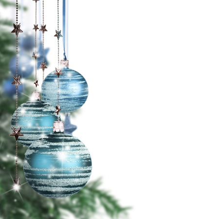 free christmas: Christmas decorative background with free space for text
