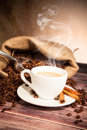 Coffee still life photo