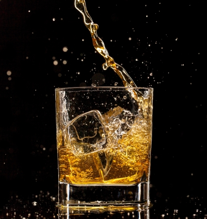 whiskey on the rocks: Whiskey drink