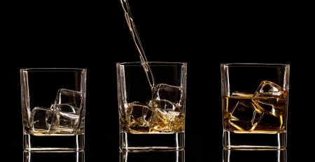 whiskey glass: Whiskey drinks