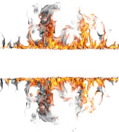 b ball: Fire stripe Stock Photo