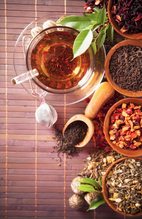plant antioxidants: Dry tea