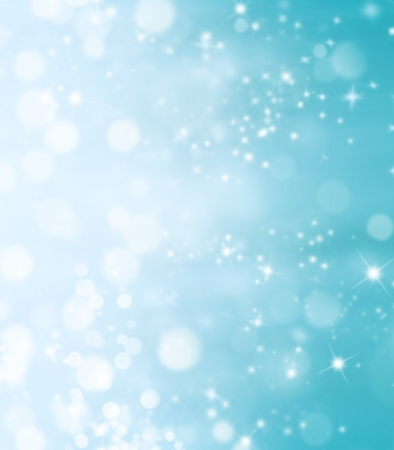 Blur shimmering abstract background in Christmas mood photo