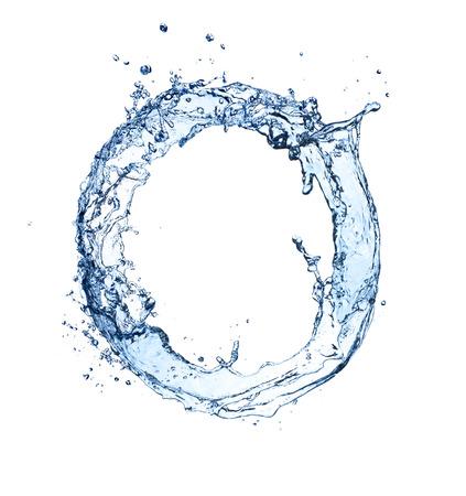 물 서클의 매크로 샷 스톡 콘텐츠