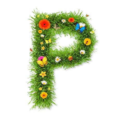 Spring alphabet letter photo