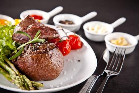 Beef steak photo