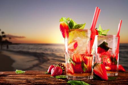 Cocktail drinks Foto de archivo