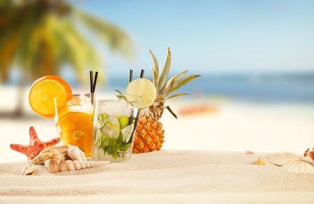 Summer beach Stockfoto
