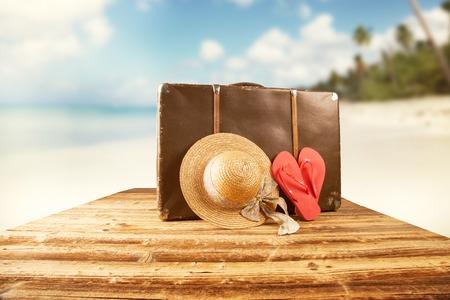 Summer beach Banco de Imagens