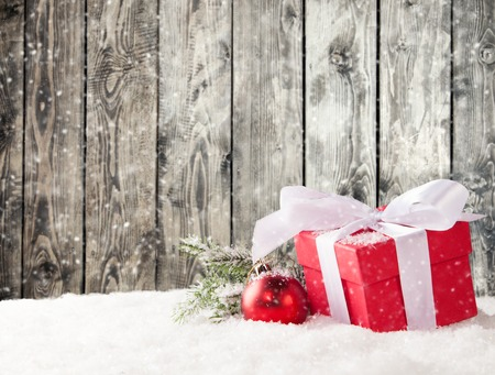 クリスマスのある静物 写真素材