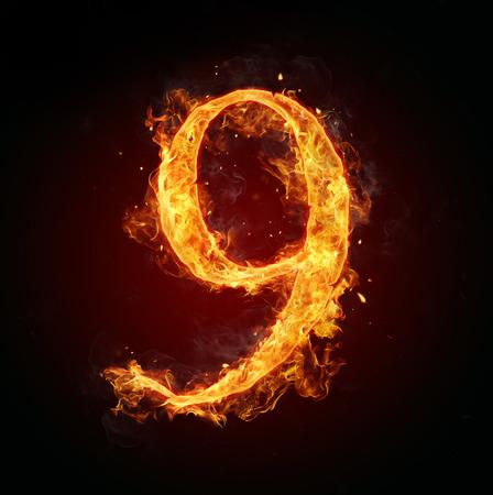 burns: Fire number 9