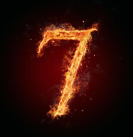 number 7: Fire number 7