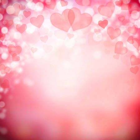 valentines: Abstract background made of hearts symbols
