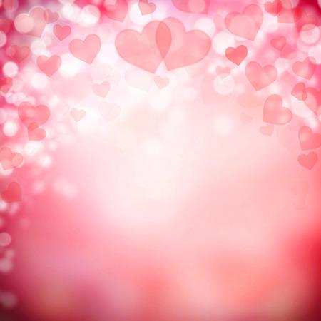 Abstracte achtergrond gemaakt van de harten symbolen