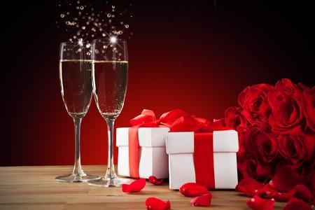 celebration champagne: Celebration still life