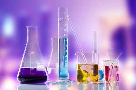Laboratory glass 스톡 콘텐츠