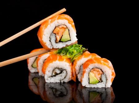 寿司と寿司 写真素材